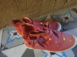 Korte laarzen veelkleurig Gemengd weefsel