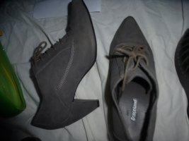 Graceland Zapatos brogue gris