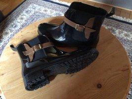 Tamaris Gumowe buty czarny-brązowy