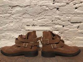 Stiefelette Ankle Boot Mango Wildleder