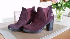U.s. polo assn. Slip-on Booties blackberry-red leather