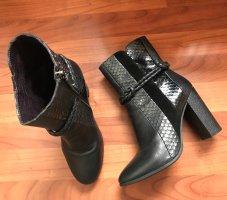 Envio Zanon Booties black-dark grey