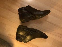 Deichmann Zipper Booties black