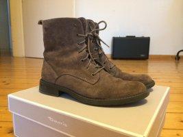 Stiefelette- Leder Boots Gr. 37