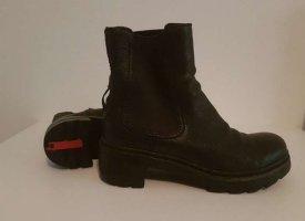 Prada Slip-on Booties black