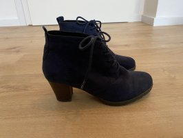 City line Lace-up Booties dark blue