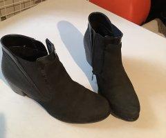 ara Zipper Booties black