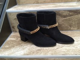 Cavalli Booties black suede