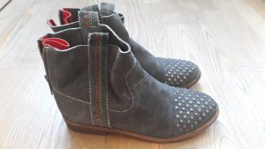Crick it Ankle Boots grey leather