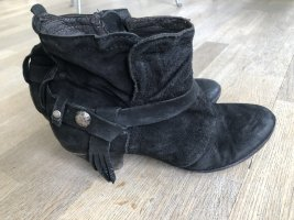 Airstep Ankle Boots black leather