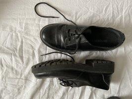 H&M Divided Patucos con cordones negro