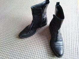 Stiefeletten Ankel boots von Truman's schwarz 36 Budapester