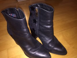 Tommy Hilfiger Ankle Boots black-gold-colored