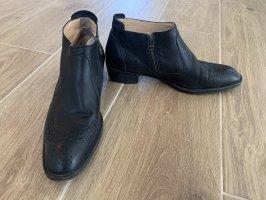 Stiefeletten, Ankle Boots, Leder, Premium-Marke Lloyd, Gr. 7, 40.5