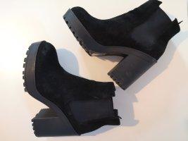 H&M Bottines à plateforme noir