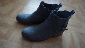 Stiefeletten/Boots blau Gr. 39