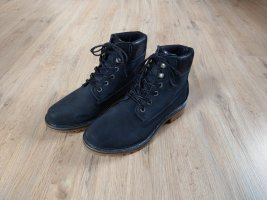 Stiefeletten Boots dunkelblau Tamaris Glitzer