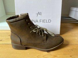 Anna Field Bottine d'hiver brun