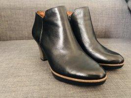Tamaris Botte courte noir cuir