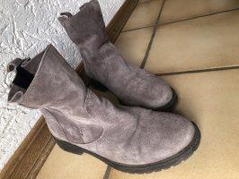 Buffalo Wciągane buty za kostkę szary