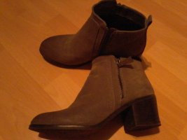 Orsay Short Boots grey leather
