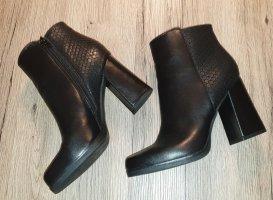 Catwalk Zipper Booties black
