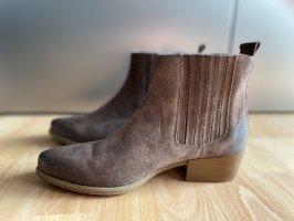 DREI MASTER Wciągane buty za kostkę brązowy