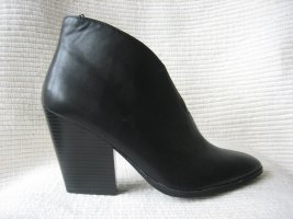 H&M Heel Boots black leather