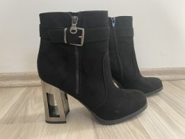 Catwalk Zipper Booties black