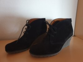 Tom Tailor Platform Booties black