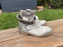 Bull Boxer Krótkie buty szaro-zielony