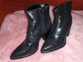 One Two Western Boots black