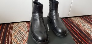Ann Demeulemeester Ankle Boots black leather