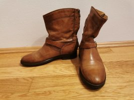 Belstaff Zipper Booties brown