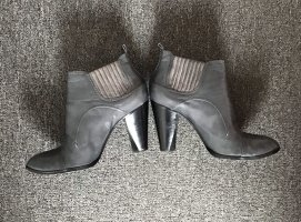 Costume National Western Booties anthracite leather