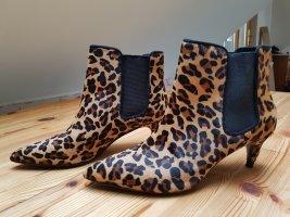 Zara Basic Bottines à enfiler brun