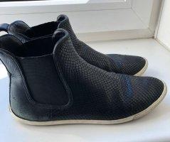 Marc Jacobs Slip-on laarzen wit-zwart