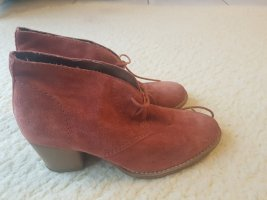 Tamaris Slouch Booties apricot