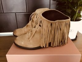 Western Booties light brown