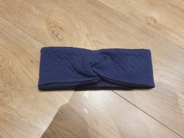 Stirnband blau Fleece
