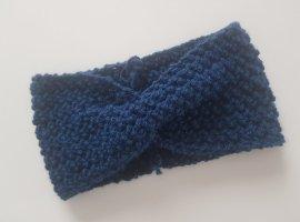 Gebreide Muts donkerblauw Synthetische vezel