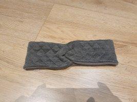 Stirnband grau Fleece
