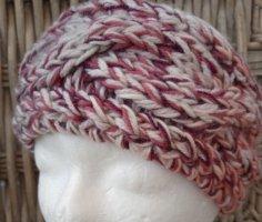 Handmade Sombrero de punto rosa
