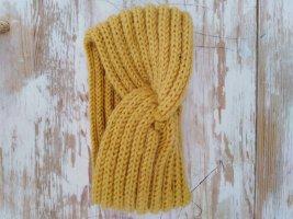 Oorwarmers geel-goud Oranje