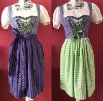 Stockerpoint Vestido Dirndl lila-verde claro Algodón