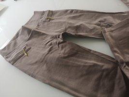 Treggings marrone-grigio