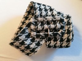H&M Fabric Belt white-black