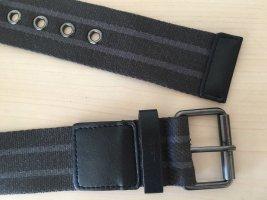 Esprit Cinturón de tela taupe-marrón grisáceo