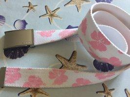 Esprit Fabric Belt white-pink