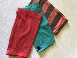 H&M Spódnica ze stretchu różowy-turkusowy